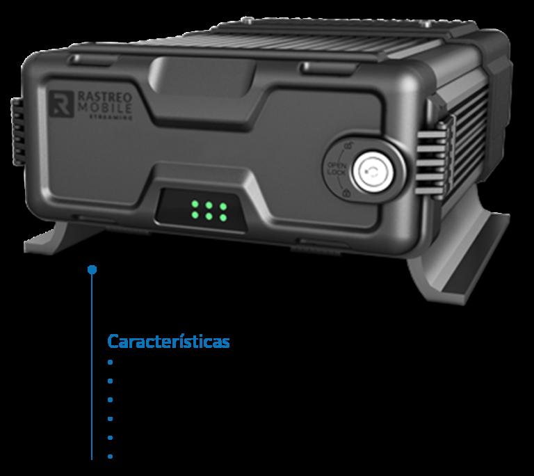 DVR Móvil Con las siguientes Características, Soporta 16 canales IPC, Antena 3G/ y 4G, Wifi Incorporado, Hasta 4tb de almacenamiento, 256GB de grabación en memorias SD, Gps interno para localización, Encendido mediante POE.