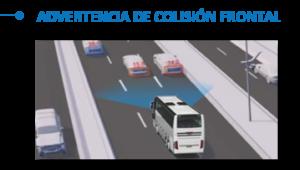 RastreoMobile Advertencia de colision frontal