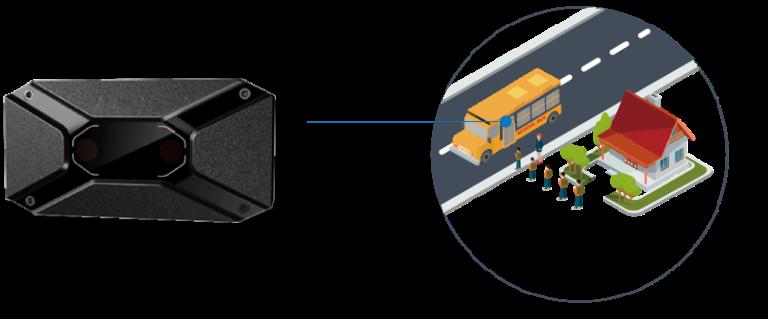 El sistema permite contabilizar los pasajeros que ingresan a un vehiculo, sin importar cuantas entradas o salidas tenga.