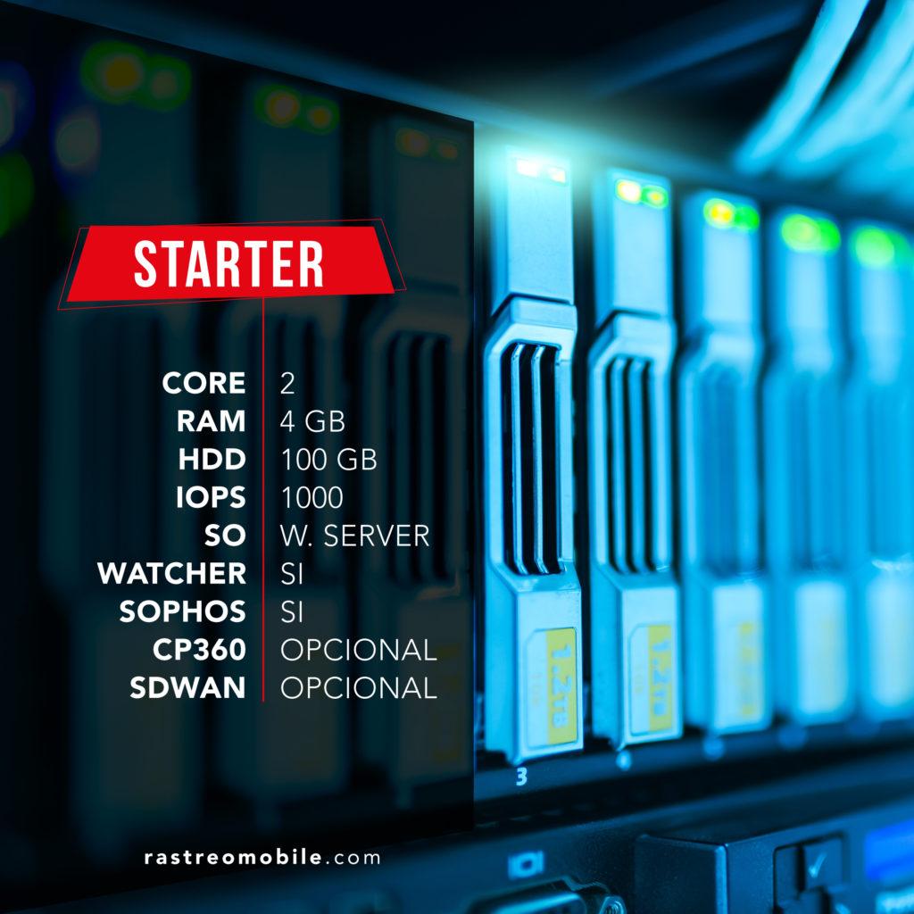 RastreoMobile Cloud Server Starter