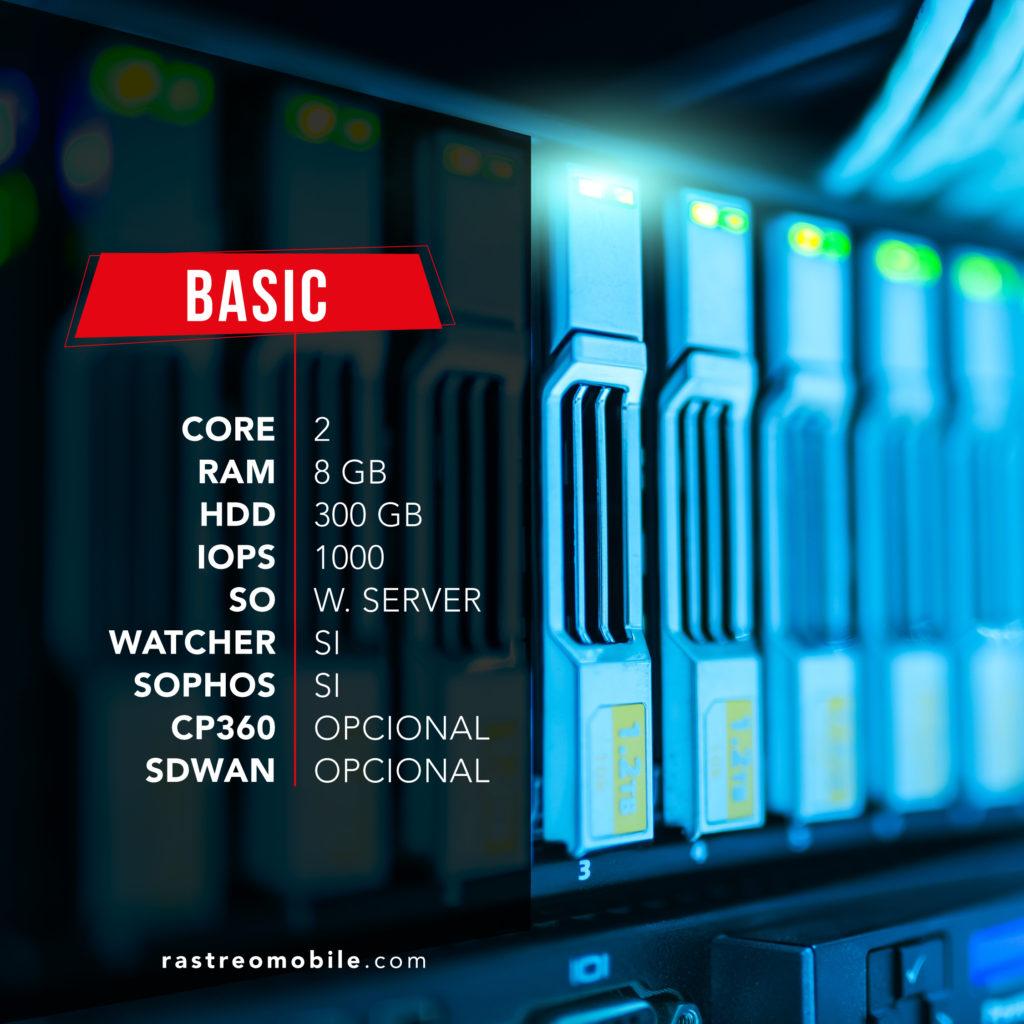 RastreoMobile Cloud Server Basic