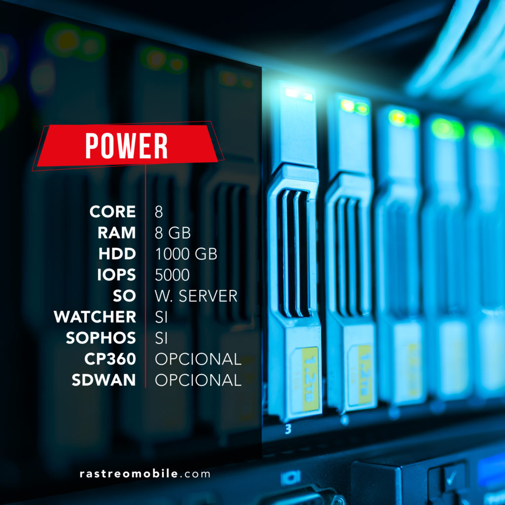 Opcion de cloud Server Power