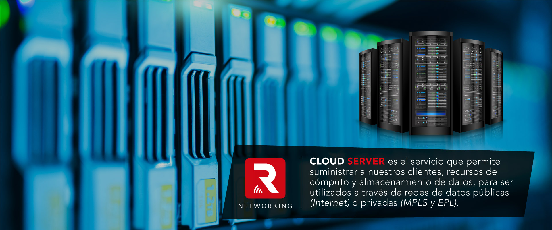 Unidad de negocios orientada a Servicios informaticos, Servidores, Cloud, Informatica, redes y telecomunicaciónes